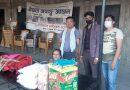 जय माता दि एज्युमेंट प्रा.लि द्वारा खाद्यान्न सहयोग ! (फोटो फिचर सहित )