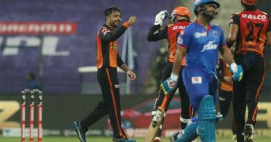 आईपीएल : हैदरावादले दिल्लीलाई १५ रनले हरायो