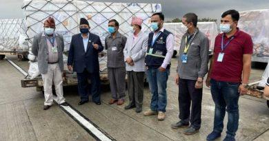 चीनबाट आयो थप ४४ लाख डोज भेरोसेल खोप