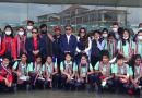 मैत्रीपूर्ण खेलका लागि बङ्गलादेशी महिला फुटबल टोली नेपालमा
